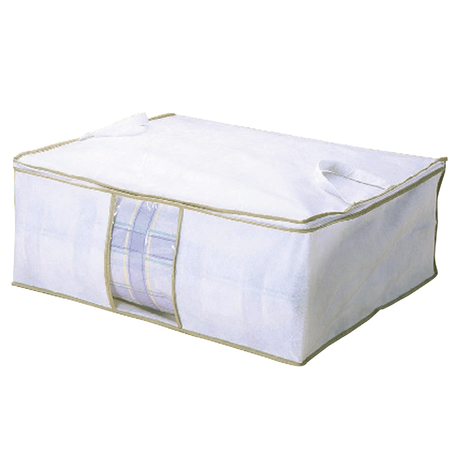 3-Large-Storage-Bags-Clothes-Bedding-Breathable-Dust-Moth-Damp-Protection-Zipped thumbnail 2