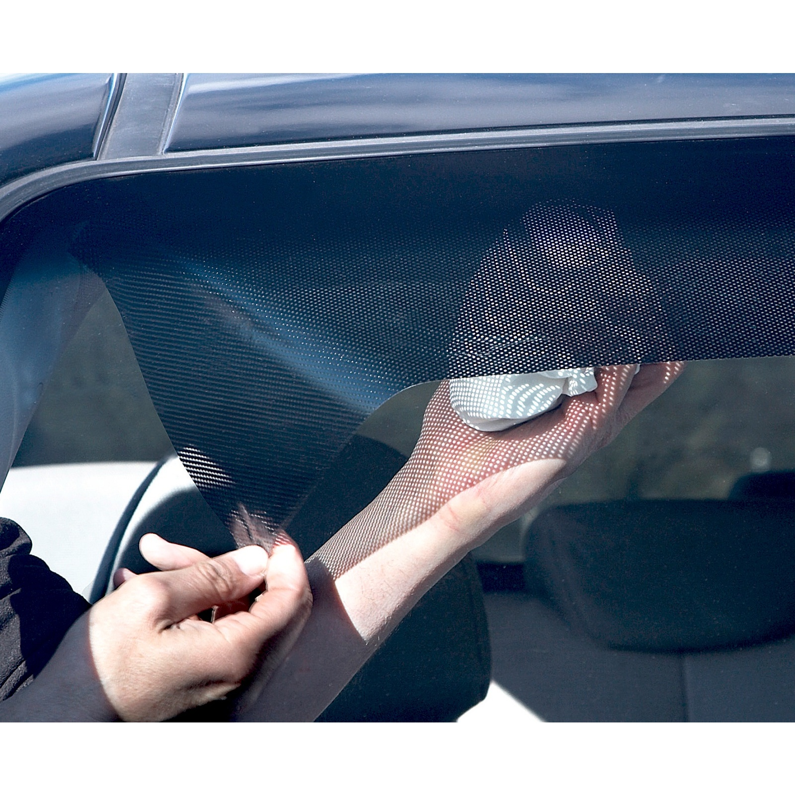 Sun Blocker For Car >> Car Sun Blocker Visor Shade Static Cling Windscreen Film Removable Reusable Wind